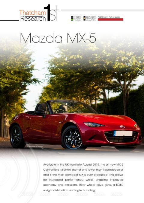 Thatcham 1st : Mazda MX-5
