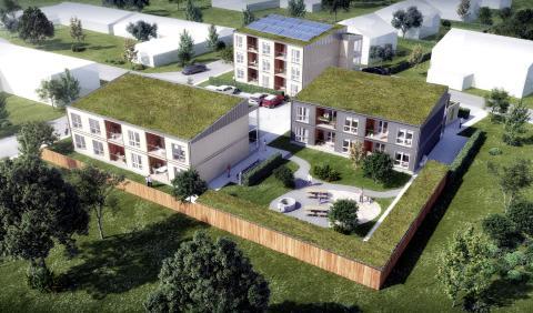 Zenergy möter bostadsbrist i Skillingaryd med moderna boendemoduler