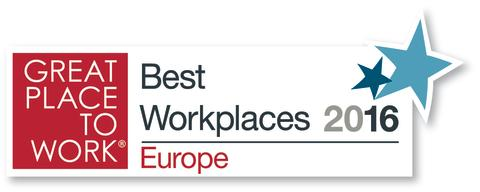 Great Place to Work, Best Workplaces Europe 2016, 3 Swdeden