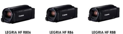 Spela in och dela med nya LEGRIA HF-serien