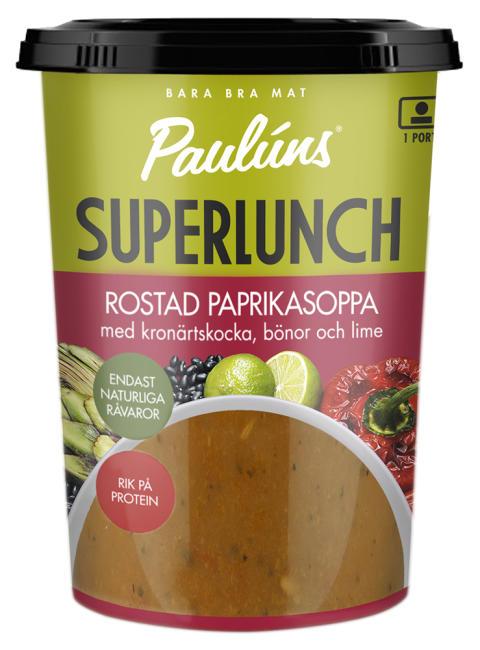 Paulúns Superlunch Rostad paprikasoppa