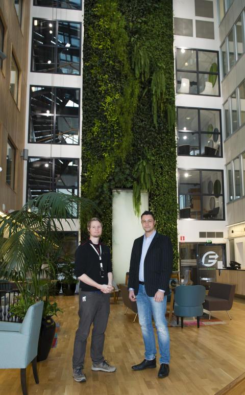 Avancerad installation från RingUp löste problem med dålig mobiltäckning på Göteborg Energis huvudkontor