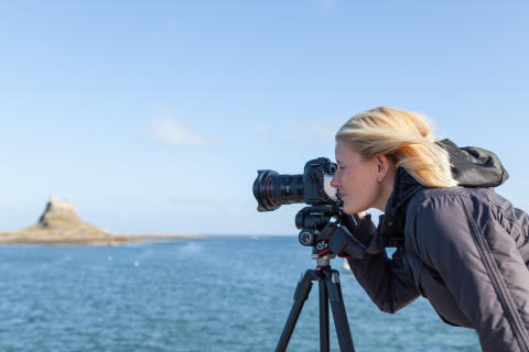Holy Island photographer is picture of success thanks to superfast broadband