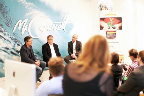 Salsa-jätten Garden Fresh lanserar nu sitt nya matföretag Great Fresh Food tillsammans med Sundsvallsbyrån McGarrett