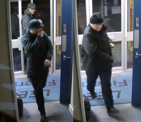 CCTV images released following burglaries at businesses in Andover