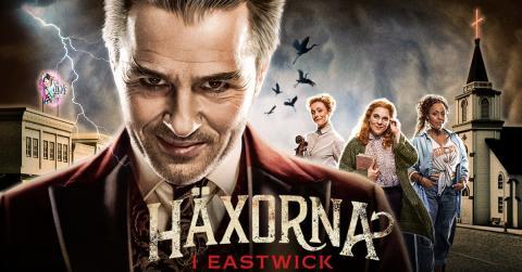 """Biljettrusning till höstens stora musikal """"Häxorna i Eastwick"""" - nu släpps fler föreställningar!"""