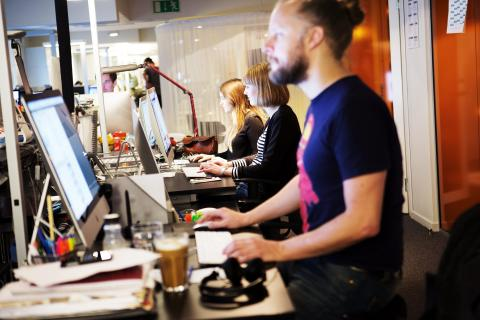 Sweden's Direktpress integrates digital and print news production with a hyperlocal focus