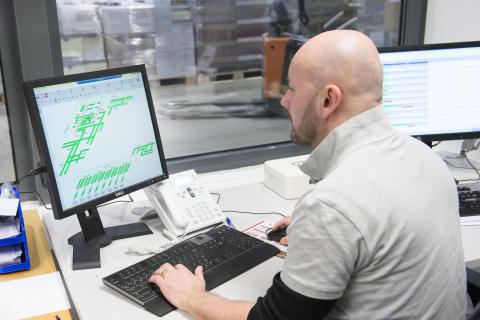 WAMAS registrerer og styrer de komplekse processer og sørger for et effektivt vareflow - Vectura AS