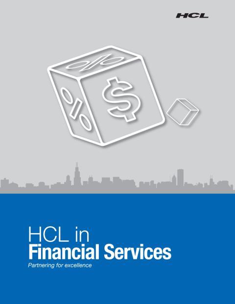 HCL Services til bank- og forsikring