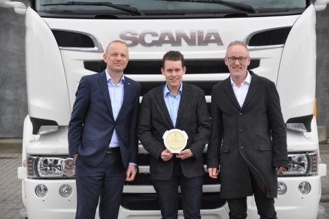 Salgskonsulent Tom Korsholm Pedersen, 32 år, Scania i Kolding