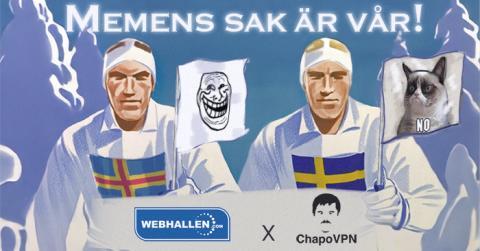 Webhallen flyttar till åländsk frimem-zon, köper startup-bolaget ChapoVPN