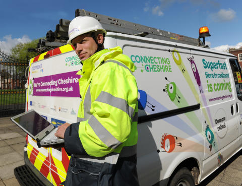 Connecting Cheshire announces multi million pound broadband boost for more communities