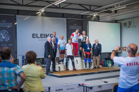 2017 ELEIKO European Masters & International Masters Open Weightlifting Championships