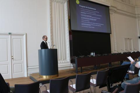 Flemming Vejby Kristensen, Solcellekonference på Christiansborg