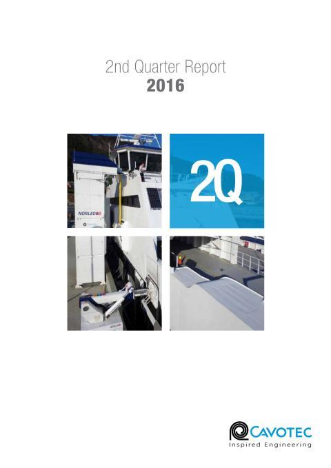 Cavotec 2Q16 Report (PDF)