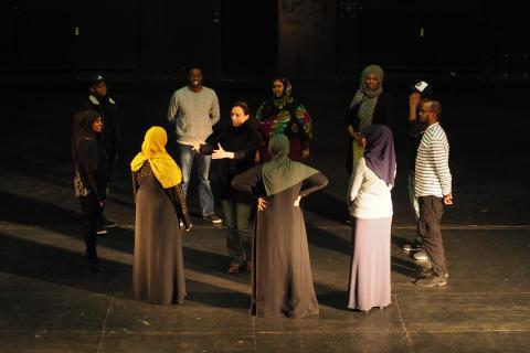 Under de indledende prøver til Somaliske Erindringer