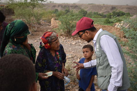 ADRA Jemen fält besök 1