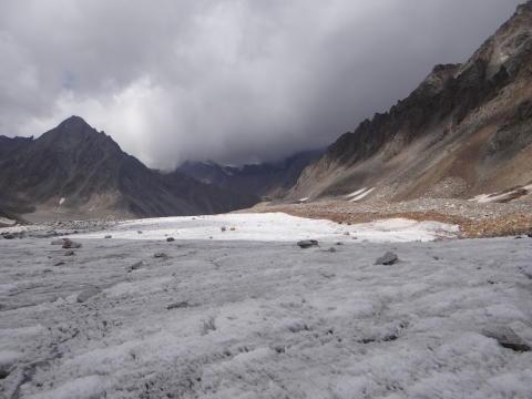 Glaciärer allt mer utsatta för klimatförändringar