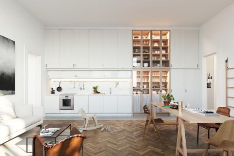 Glommen & Lindberg säljstartar 15 exklusiva lägenheter signerat Mats Theselius – över hälften redan sålda