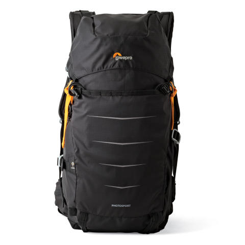 Lowepro Photo Sport II BP200 AW, svart framifrån