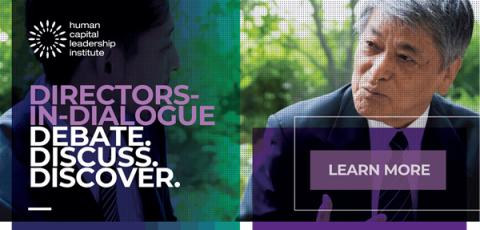 Directors-in-Dialogue Forum:The Future World for Boards