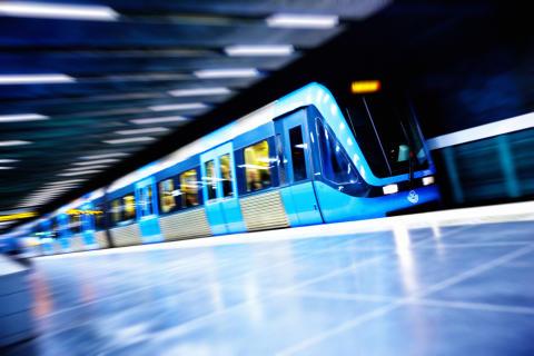 C20-tåg på station