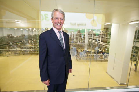 World's largest fresh milk dairy is officially opened by Secretary of State