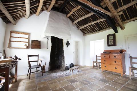 Inside Andrew Jackson Cottage