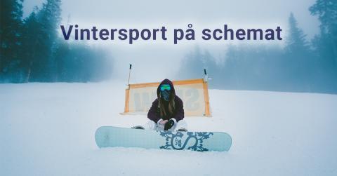 Vintersport på schemat - året om!