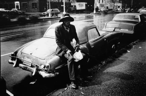 John Bark_PlanketSthlm Man and Mercedes_ NYC
