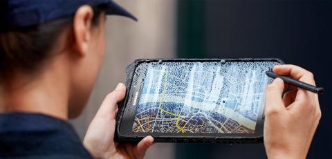 Galaxy Tab Active2 gör tufft arbete lätt