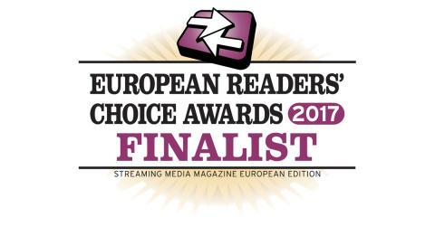 Net Insights live OTT-lösning Sye framröstad som finalist i Streaming Medias 2017 European Readers Choice Awards