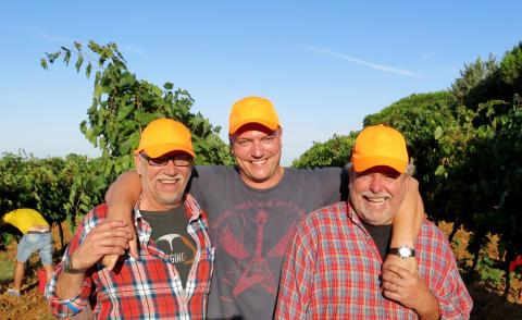 Vinmakare i Toscana