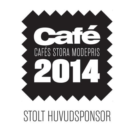 Stayhard.se- Stolt huvudsponsor till Cafés Stora Modepris 2014