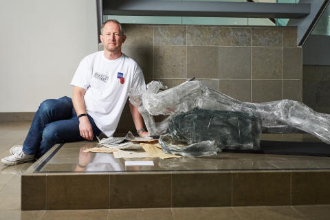 Bury Art Museum showcases sculpture by local Forces veteran