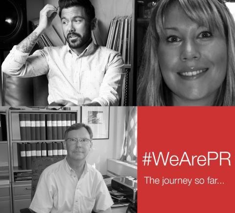 #WeArePR: The journey so far...