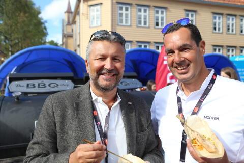Svein Arild Steen-Mevold og Morten Malting