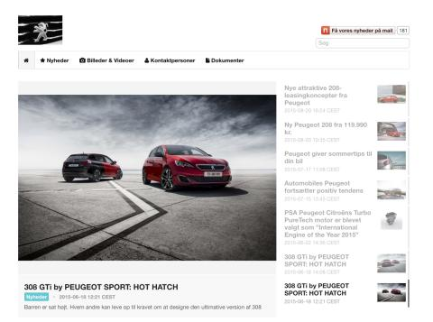 Peugeot: Driving Web Traffic With Mynewsdesk