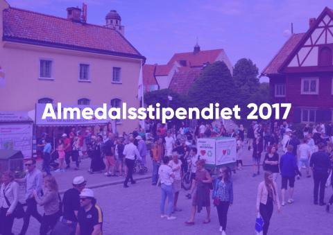 Nominera årets Almedalsstipendiat 2017