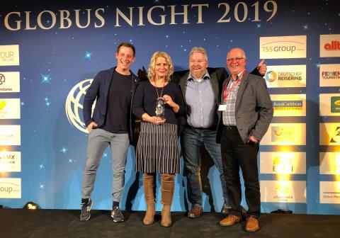 Schmetterling Reisebüros wieder herausragend beim Globus Award
