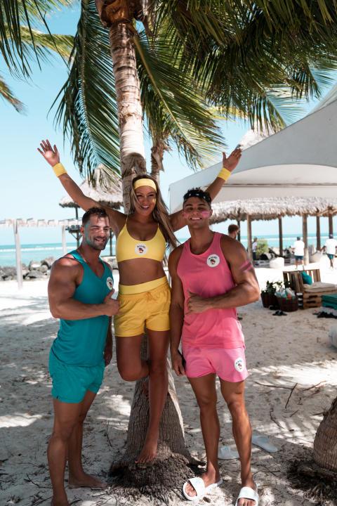 Die ehemaligen «Love Island»-Kandidaten Tobias, Marcellino und Chethrin vertreten Deutschland und berichten auf ihren Social Media Kanälen über das Event.