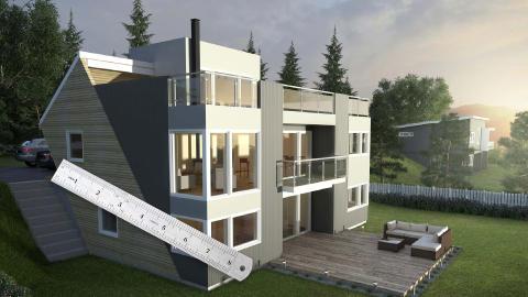 Bygge hus på vanskelig tomt? Her er løsningene
