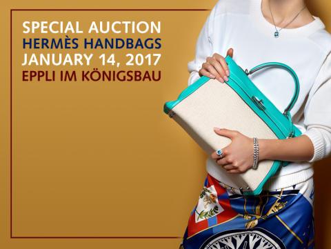 Eppli setzt Sonderauktion von Hermès-Taschen fort