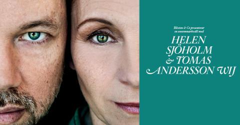 En sensommarkväll med Helen Sjöholm & Tomas Andersson Wij till Uppsala, Stockholm, Helsingborg och Kalmar i augusti