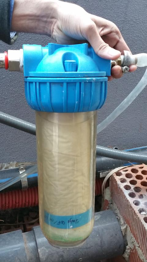 Nanofilter effektiv vattenrenare