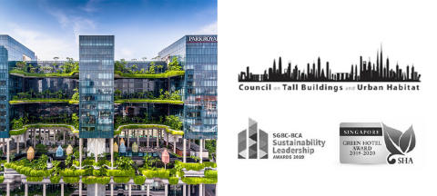 PARKROYAL on Pickering named one of the World's Most Influential Tall Buildings