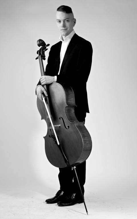 Björn Risberg, violoncell, Norrlandsoperans Symfoniorkester
