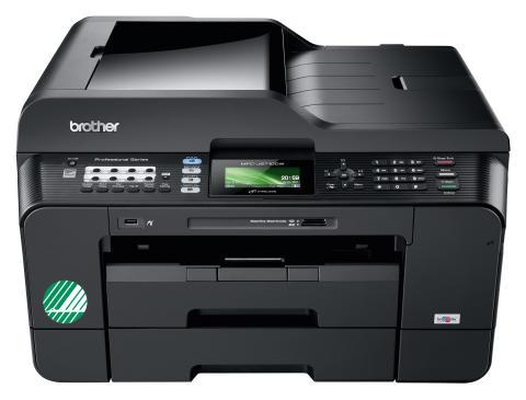 Ritningar i A3 med nya Svanenmärkta multifunktionsmaskiner från Brother
