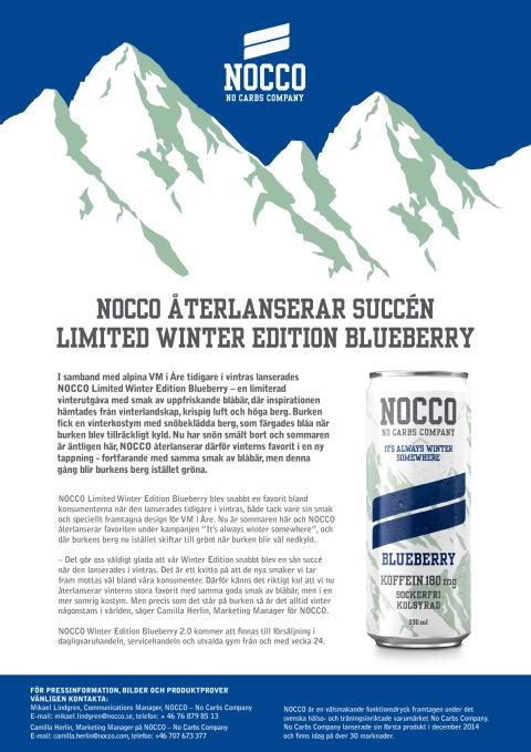 Pressmeddelande Limited Winter Edition Blueberry 2.0