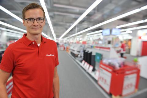 Media Markt välkomnar David Storm som ny varuhuschef för Media Markt i Jönköping!